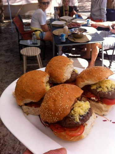 Hamburgers!