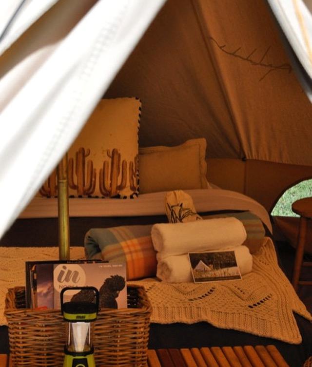 Romantic Getaways - Pitch Luxury Camping