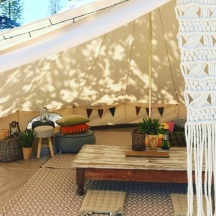 Hens Chill Out Tent
