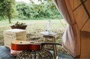 guitar tent
