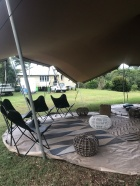 party tent furn